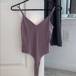 Purple Tank Top/Body Suit XS/0